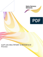 AoIP With Multipoint a-Interface
