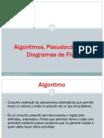 Algoritmos, Pseudocódigos y Diagramas de Flujoo
