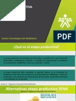 Presentación Etapa productiva generalidades 2018