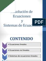 Sistemas de Ecuaciones Matlab