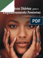Práticas diárias de empoderamento feminino