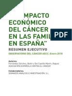 Estudio Impacto Economico Pacientes Cancer