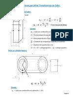 Formulario Primer Parcial Transferencia de Calor