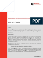 AGN 007 - Testing