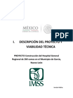 Descripcion Proy Viabilidad Tecn Hospital Imss