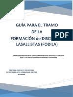 GUÍA PARA EL TRAMO DE FODILA ( TREYCTORIAS SAL Y DISCERNIMIENTO VOCACIONAL)