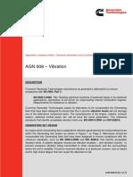 AGN 008 – Vibration