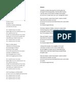 [lyrics] -- christian song
