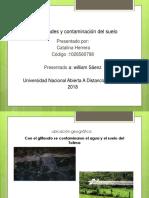 Propiedades y Contaminación Del Suelo DIA POSITTIVAS