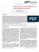 A Look at the Pathophysiology and Rehabilitation of Osgood-Schlatter Syndrome