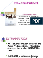 Nirdosh-herbal Smoking Device