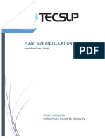 Definition of Plant Size