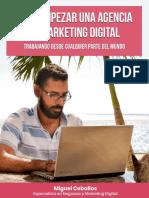 Cómo Empezar Una Agencia de Marketing Digital Desde Cualquier Parte Del Mundo