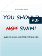Swimming Guide for Beginners & Afraid Adults