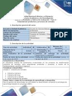 Guía de actividades y rúbrica de evaluación - Fase 3 - Estandarizar productos y procesos de cereales.docx