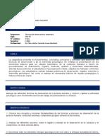 - Sillabus Tecnicas de Observación y Entrevista