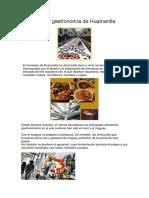 Artesanías y gastronomía de Huamantla.docx