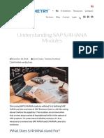 Understanding SAP S_4HANA Modules _ Symmetry Corporation