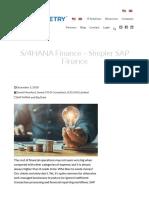 S_4HANA Finance – Simpler SAP Finance _ Symmetry Corporation