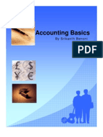 Accounting Basics by Srikanth Benoni