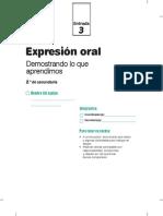 Cuadernillo Entrada3 Exp Oral 2do Grado