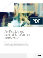 Xendesktop and Xenmobile VDI Eference Architecture