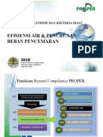 Efisiensi Air dan Penurunan Beban untuk Lingkungan