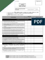 Pauta de evaluación sobre Lapbook lectura complementaria 8° básico