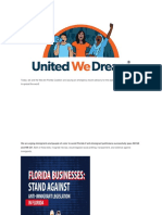 UDWA - BREAKING Florida Travel Advisory