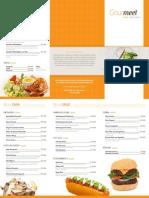 Carta Oficial Gourmeet