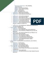 CIVIL FEDERAL Disposiciones Preliminares
