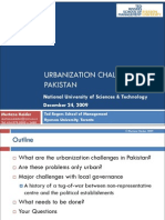 Urbanization Challenges in Pakistan