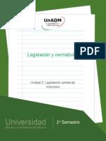 Unidad2.Legislacionambientalmexicana
