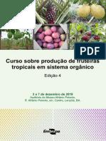 Curso Sobre Produção de Fruteiras Tropicais Em Sistema Orgânico