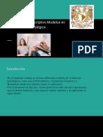 Act. 2. Cuadro Descriptivo Modelos en La Evaluación Psicológica
