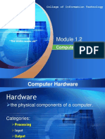 Module 1.2 - Hardware Components of a Computer