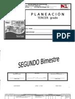Planeación 3er Grado. 2o Bimestre