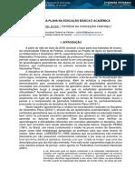 GEOMETRIA PLANA NA EDUCAÇÃO BÁSICA E ACADÊMICA