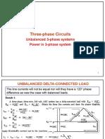 Cir2 Lect 10 UnBalanced 3phase Systems