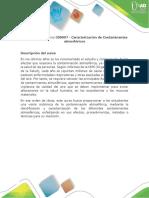 Presentación Del Curso Caracterización de Contaminantes Atmosféricos