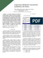 Control de Temperatura Mediante Transmisión Inalámbrica de Datos