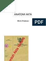 ANATOMI AKTA