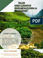 Taller Cambio Climatico Practico- Guia de aviturismo