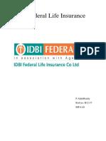 IDBI  CRS synopsis.docx