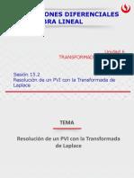 Resolución de Un PVI Con La Transformada de Laplace