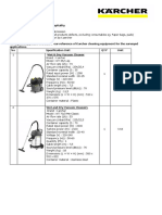 Reference Karcher Units For