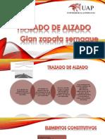 TRAZADO de ALZADO Zapata Sernaque Gian