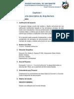 1. Capítulo I MEMORIA DE ARQUITECTURA.docx