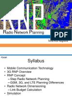 Radio Network Planning