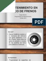 MANTENIMIENTO EN DISCO DE FRENOS.pptx